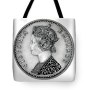 Original Silver Victoria Empress Tote Bag