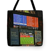 Orioles Game At Camden Yards Tote Bag