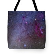 Orion And Canis Major Showing Dog Stars Tote Bag