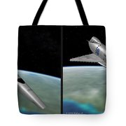 Orion IIi - Gently Cross Your Eyes And Focus On The Middle Image Tote Bag