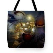 Orion's Pursuit Tote Bag