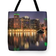 Orlando Sunrise Panorama Tote Bag