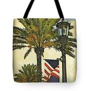 Ormond Beach Patriotic Tote Bag