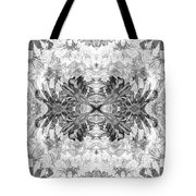 Ornament Flower Tote Bag