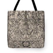 Ornament Panel: Mars, God Of Battles Tote Bag