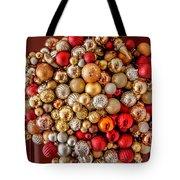 Ornament Wreath Tote Bag by KG Thienemann