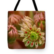 Ornamental Flower Tote Bag