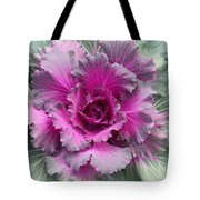 Ornamental Red Cabbage Tote Bag