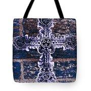 Ornate Cross 2 Tote Bag