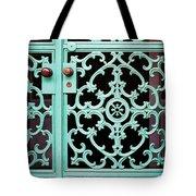 Ornate Doors Tote Bag