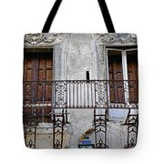 Ornate Weathered Artistic Architecture Tote Bag
