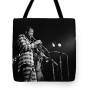 Ornette Coleman On Trumpet Tote Bag