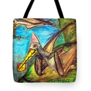 Ornithocheirus By The Sea Tote Bag