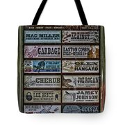 Orpheum Theater Playbill Tote Bag