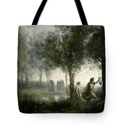 Orpheus Leading Eurydice From The Underworld Tote Bag