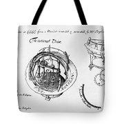 Orrery By Stephen Hales, 1705 Tote Bag