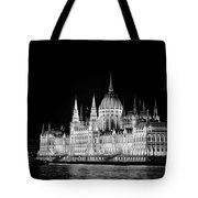 Orszaghaz At Night Tote Bag