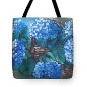 Ortencias Azules 2 Tote Bag