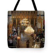 Orthodox Mass Tote Bag
