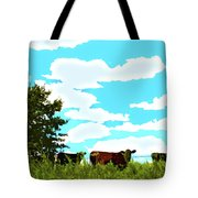 Osage County Cows Tote Bag