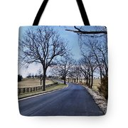 Osage County Road Tote Bag
