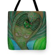 Wadjet Osain Tote Bag by Gabrielle Wilson-Sealy