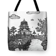 Osaka Castle Tote Bag