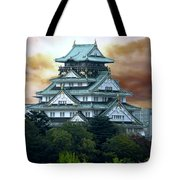Osaka Castle Still Rules Japan Tote Bag