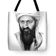 Osama Bin Laden Tote Bag