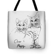 Oscar And Poppy Tote Bag