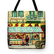 Oscar 's Candy Store Montreal Tote Bag