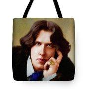 Oscar Wilde, Literary Legend Tote Bag