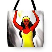 Oshun -goddess Of Love -4 Tote Bag by Carmen Cordova