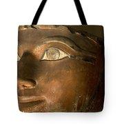 Osiris Statue Face Of Hatshepsut Tote Bag