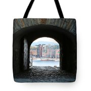 Oslo Castle Archway Tote Bag by Carol Groenen