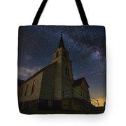 Oslo Milky Way  Tote Bag