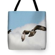 Osprey Botherd By Grackle Tote Bag