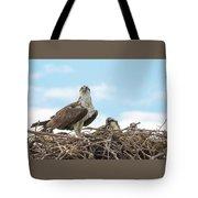Osprey Family Tote Bag