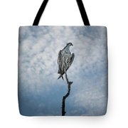 Osprey On Top Of The World Tote Bag