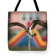 Osprey Salutes The Busch Eagle Tote Bag