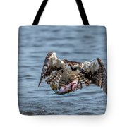 Osprey With Catch 9108 Tote Bag