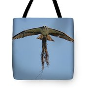 Osprey With Nesting Material 031620161500 Tote Bag