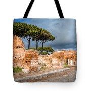 Ostia Antica - Strolling The Decuman Tote Bag