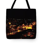 Ostrava At Night Tote Bag