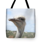 Ostrich Head II Tote Bag