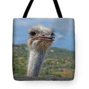 Ostrich Head Tote Bag