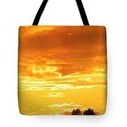 Oswego Sunset 5 Tote Bag