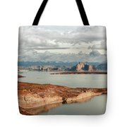 Otherworldly Morning At Lake Powell Tote Bag