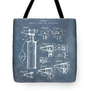 Otoscope Patent 1927 Blue Grunge Tote Bag