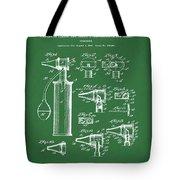 Otoscope Patent 1927 Green Tote Bag